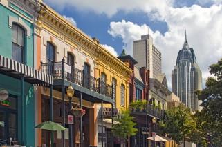 Dauphin Street - Mobile, Alabama