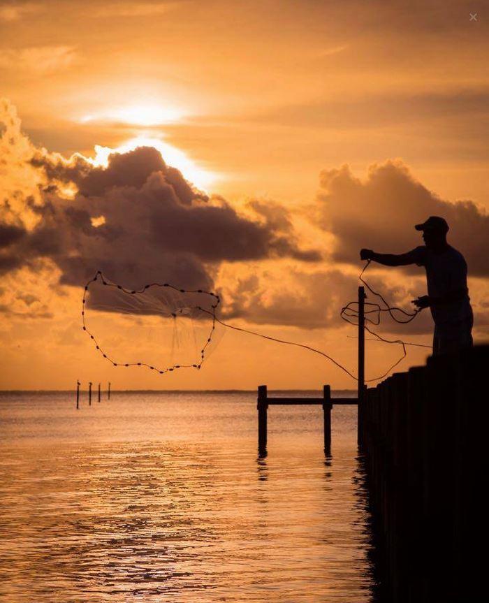 Joe Brooke -fishing in Fairhope