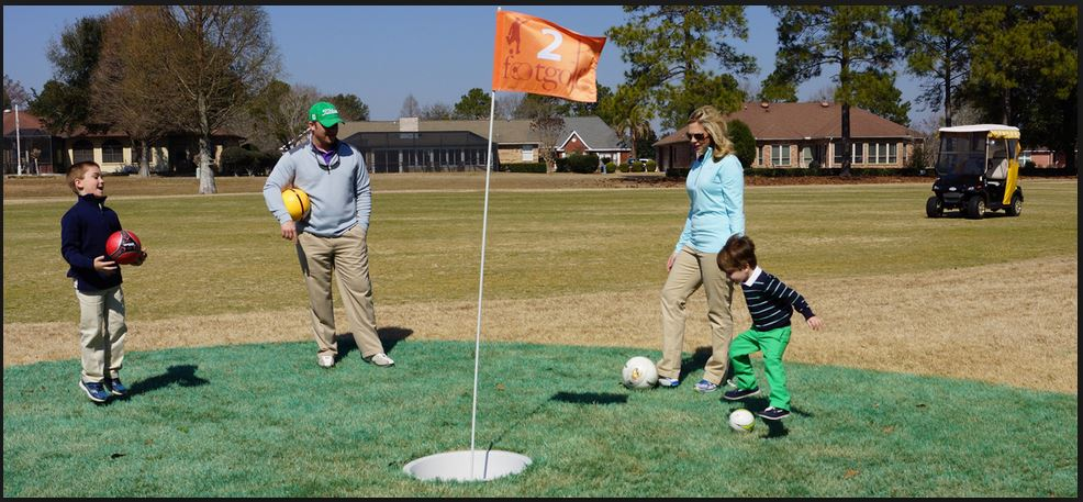 footgolf in foley