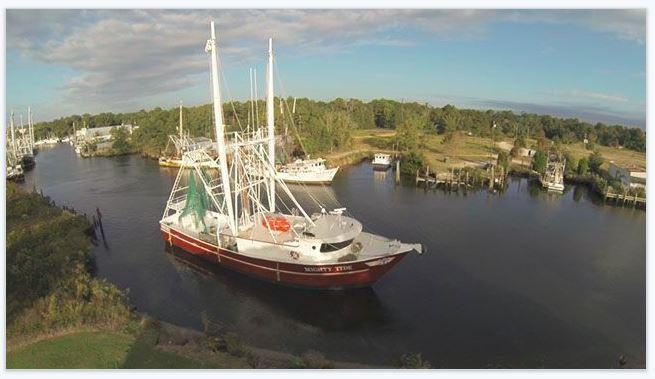 goPro Bayou Shrimp boat - SOMO